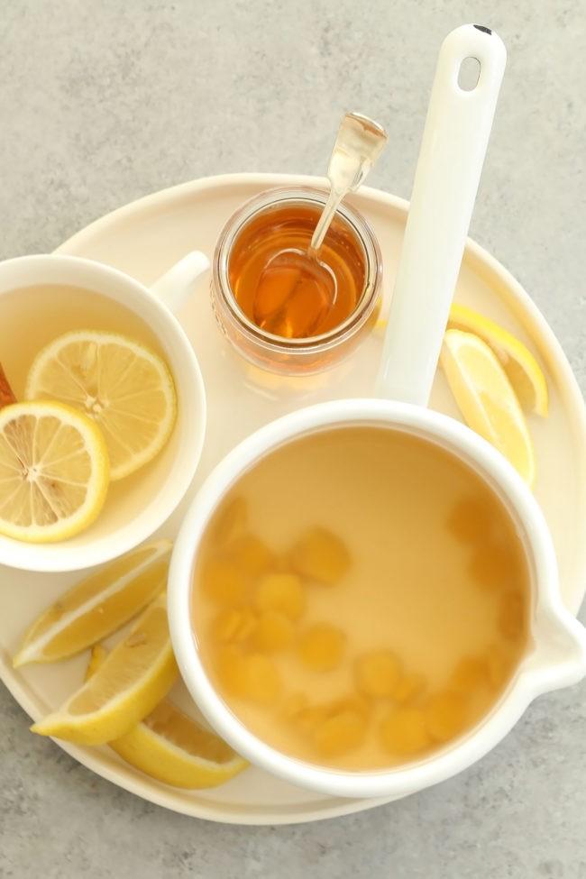 وصفات لعلاج المغص - طريقة عمل شاي الزنجبيل