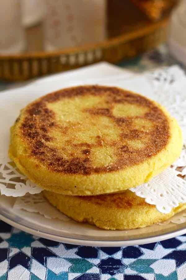 أطباق مغربية للضيوف - طريقة عمل كيك الحرشة المغربي