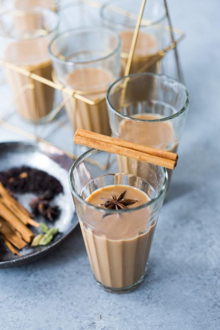 نكهات عالمية لإعداد الشاي - طريقة عمل شاي الكرك الهندي