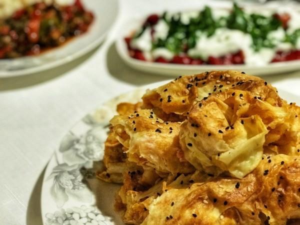 وصفات غريبة من المطبخ التركي - طريقة عمل البوريك بالبطاطس