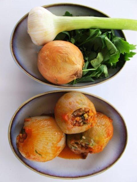 وصفات غريبة من المطبخ التركي - طريقة عمل محشي البصل التركي