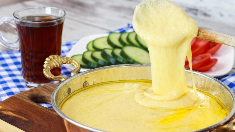 وصفات غريبة من المطبخ التركي - طريقة عمل الجبن التركي كويماك