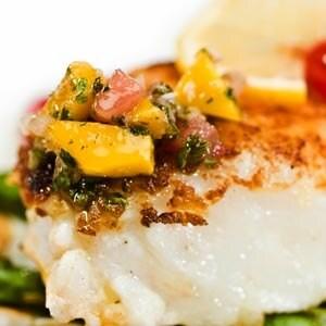 أطباق رئيسية باستخدام الفواكه المجففة - طريقة عمل السمك والجمبري بالفواكه المجففة