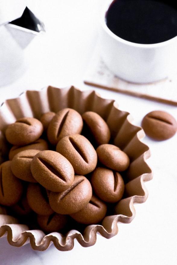 نكهات مختلفة للكوكيز من عجينة واحدة - طريقة عمل كوكيز بنكهة القهوة