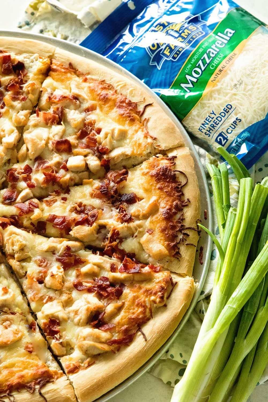 بيتزات بصوصات مختلفة غير الطماطم - طريقة عمل بيتزا بصوص الرانش