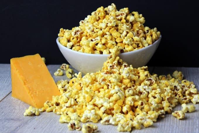 وصفات للفشار - طريقة عمل الفشار بالجبنة