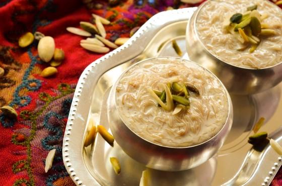 حلويات بالقشطة - طريقة عمل حلى الشعيرية الباكستانية بالقشطة