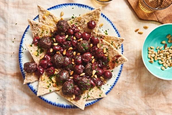أشهر الوصفات السورية - طريقة عمل اللحم بالكرز