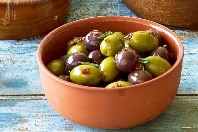 وصفات بالزيتون الأخضر - طريقة عمل مخلل الزيتون الأخضر