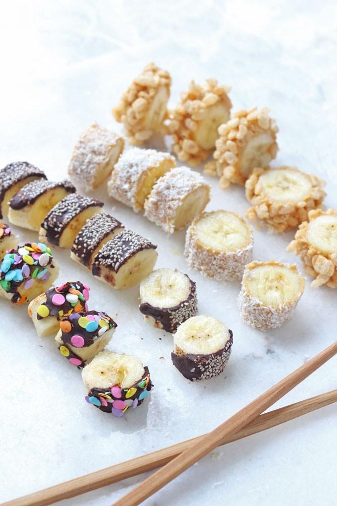 وصفات للطبخ مع أبنائك - طريقة عمل الموز بالشوكولاتة