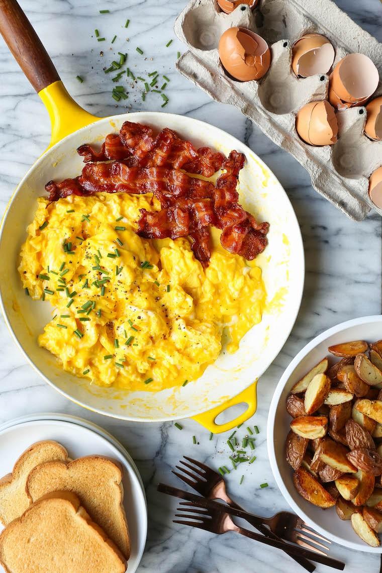 وصفات للطبخ مع أبنائك - طريقة عمل البيض المقلي
