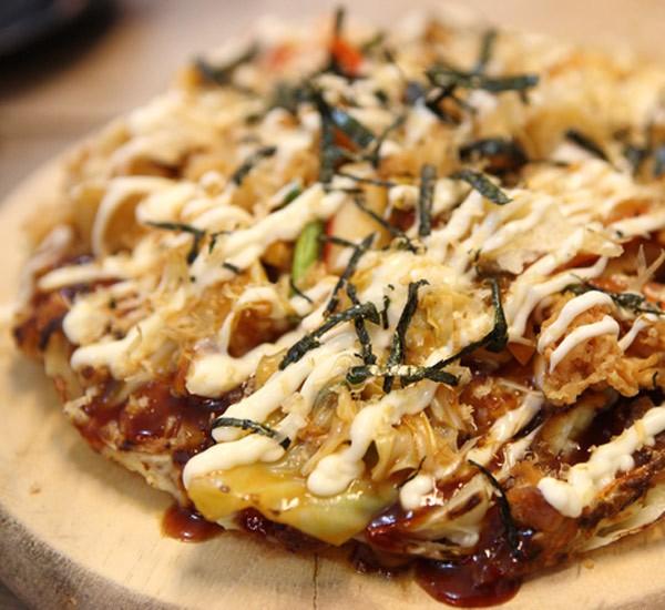 وصفات يابانية - طريقة عمل البيتزا اليابانية