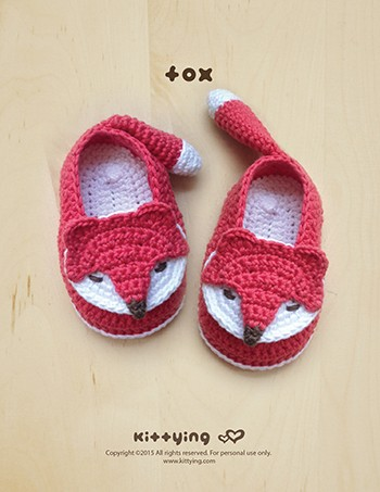 عمل أحذية أطفال بالكروشيه - أحذية كروشيه بأشكال حيوانات _ 2