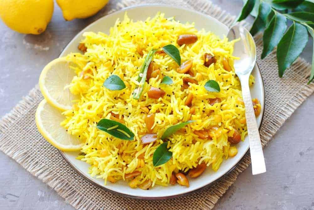 وصفات للأرز - طريقة عمل الأرز الهندي بالكركم والليمون