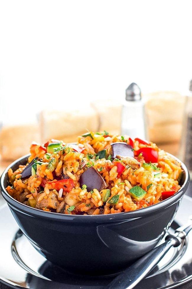 وصفات للأرز - طريقة عمل الأرز الإيطالي بالخضار