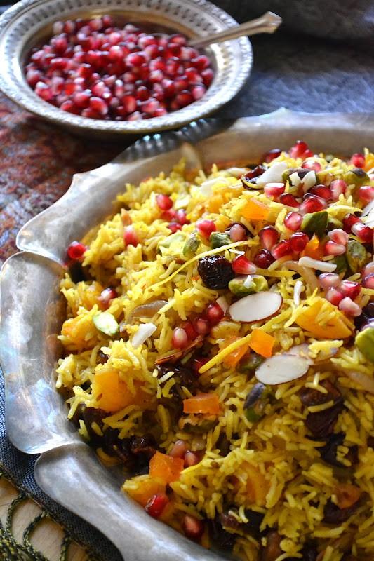 وصفات للأرز - طريقة عمل الأرز الإيراني