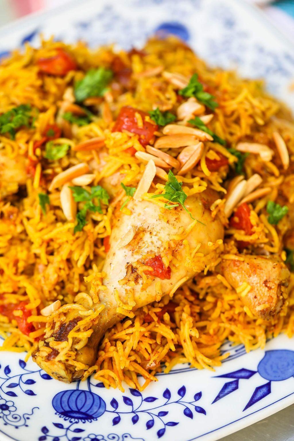 وصفات للأرز - طريقة عمل أرز الكبسة السعودي