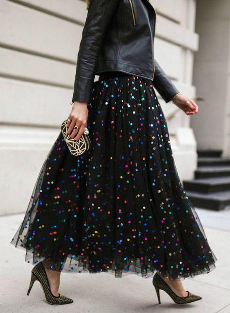 جيبات تل منفوشة طويلة - ألوان النجوم