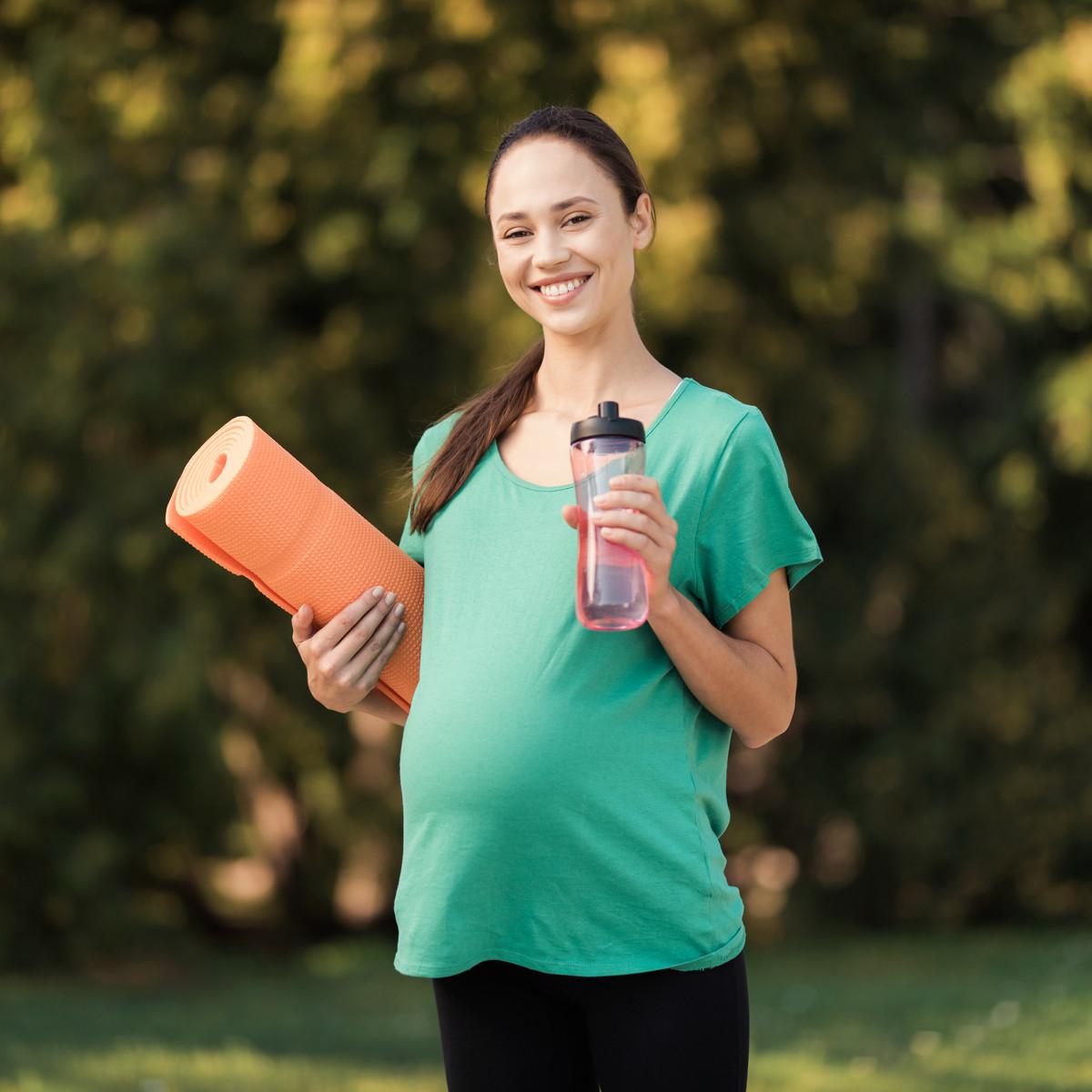 تمارين لتسهيل الولادة الطبيعية للبكر - تمرين المشي