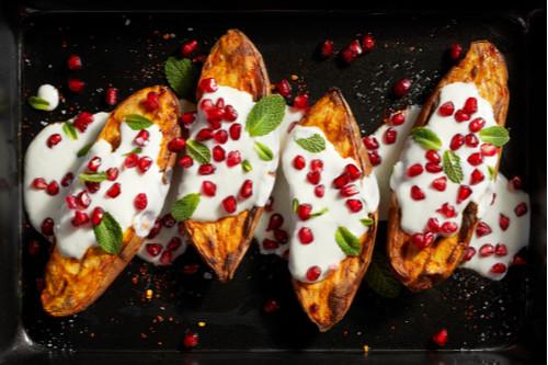 وصفات فطور بدون بيض - طريقة عمل البطاطس بالفاصوليا الحمراء
