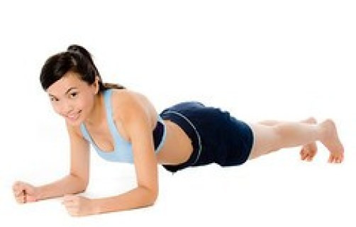 كيفية التخلص من شحوم الثدي - تمرين البلانك للتخلص من دهون الثدي