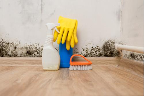 أضرار التكييف على الأطفال - أدوات تنظيف