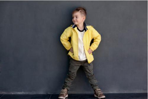 ملابس فصل الخريف للأطفال - جاكيت خفيف للأطفال
