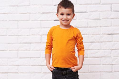 ملابس فصل الخريف للأطفال - تيشيرت قطني للأطفال