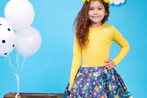 ملابس فصل الخريف للأطفال - فستان للأطفال