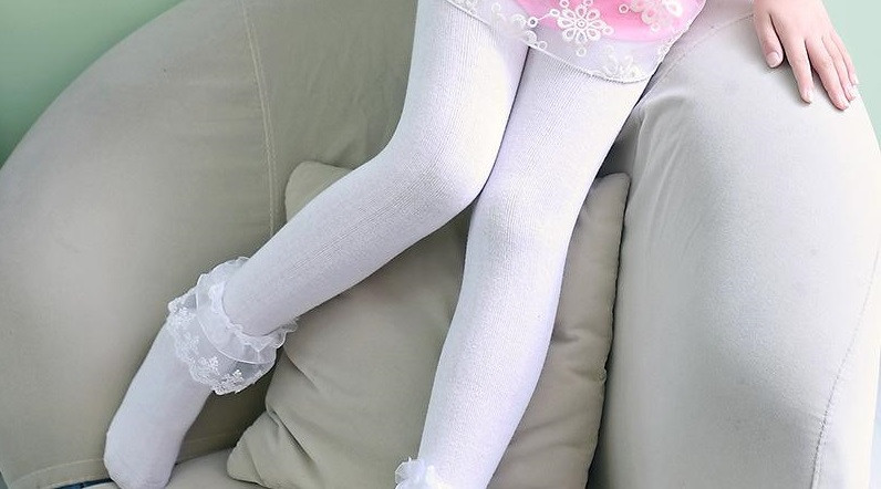 ملابس فصل الخريف للأطفال - جوارب طويلة للبنات