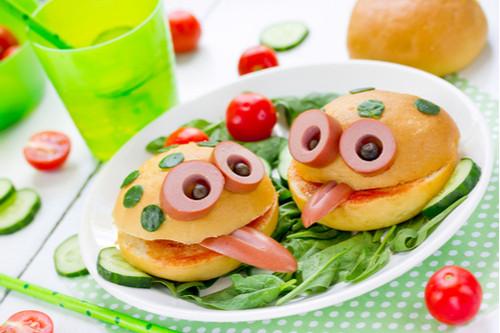 وجبات مدرسية صحية للأطفال - الساندويشات الباردة بأشكال جذابة