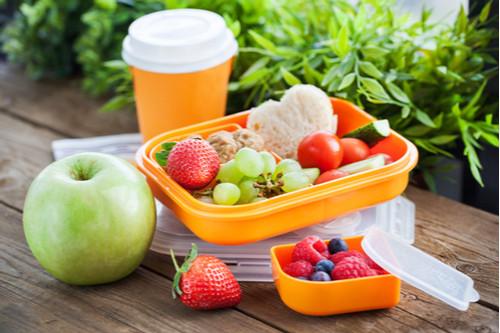 وجبات مدرسية صحية للأطفال - الفاكهة والخضروات