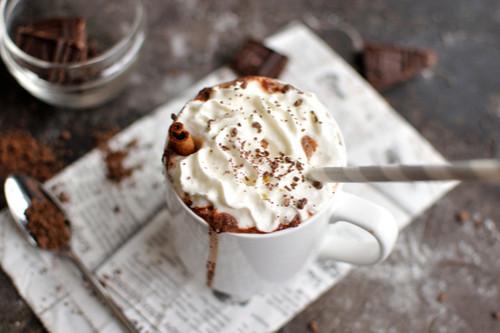 الشوكولاتة الساخنة - طريقة عمل الشوكولاتة الساخنة بالنوتيلا