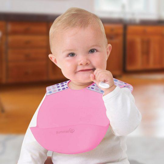 أدوات أكل الأطفال الرضع - صدرية للأطفال