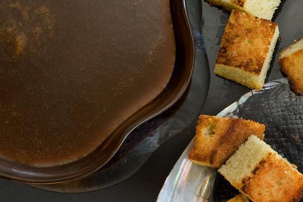 حشوات الكيك - طريقة عمل صوص القهوة والبرتقال