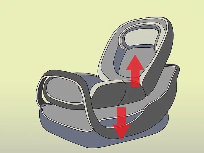 كيفية تركيب كرسي الأطفال في السيارة - افصلي حامل السيارة عن القاعدة