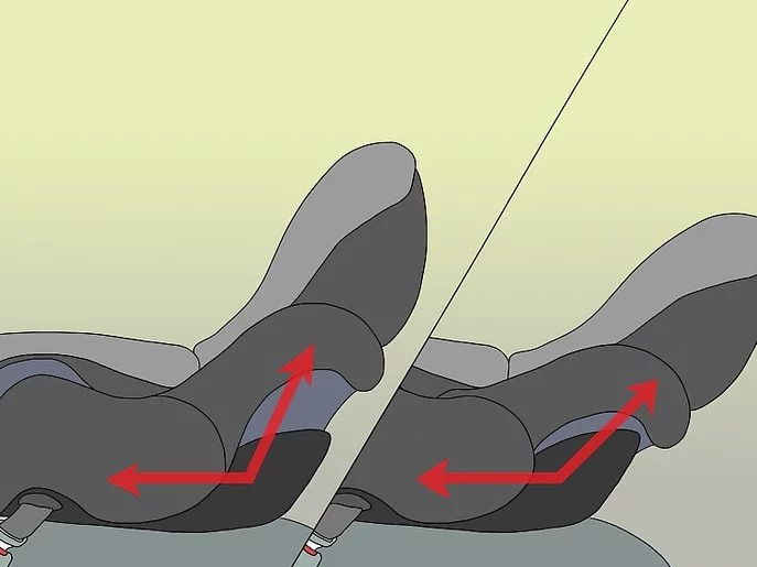 كيفية تركيب كرسي الأطفال في السيارة - انتبهي إلى زاوية القاعدة