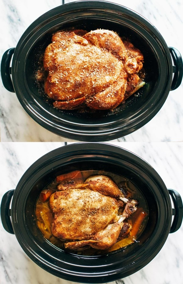 حلة الطهي البطيء - طريقة عمل الدجاج المشوي