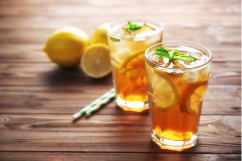 مشروبات الديتوكس - طريقة عمل مشروب ديتوكس الشاي الأخضر والليمون والنعناع