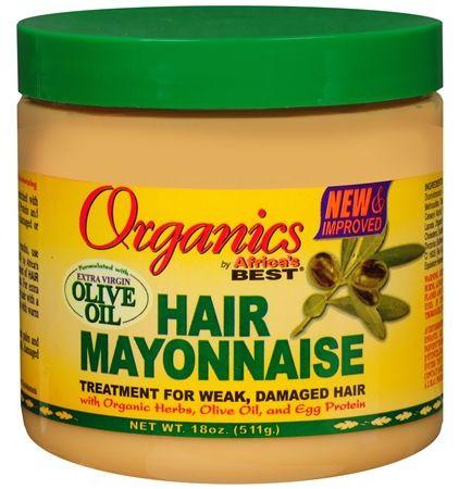 أفضل منتجات للعناية بالشعر المصبوغ - أورجنيز مايونيز بزيت الزيتون للشعر التالف