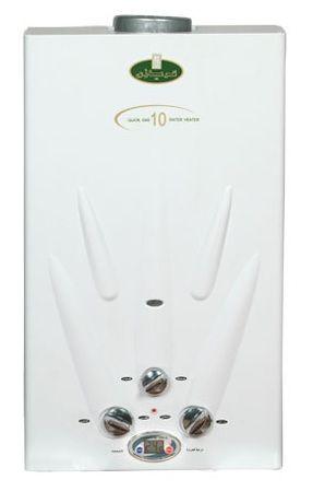 أفضل سخانات الغاز - سخان مياه كريازي ديجيتال غاز طبيعي، سعة 10 لترات - أبيض - KGH10