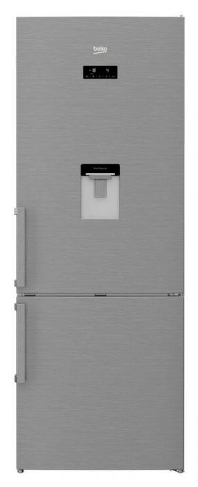 أفضل أنواع الثلاجات - ثلاجة نوفروست ديجيتال بيكو، 2 باب، سعة 19 قدمًا، ستانليس ستيل - RCNE520E22DX