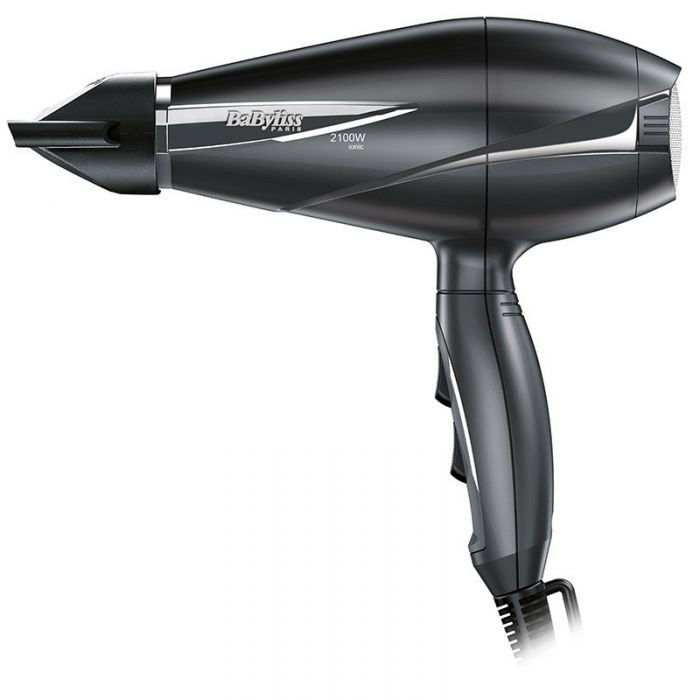 مجفف شعر بيبي ليس، 2100 واط، رمادي - 6609E