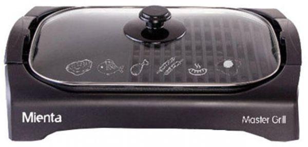 أفضل أنواع الشوايات الكهربائية - شواية ماستر من ميانتا، 2200 وات، أسود - HG34109A