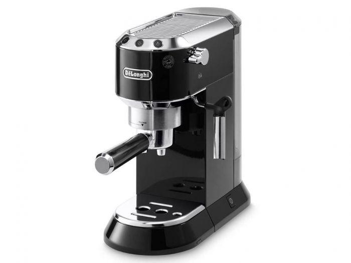 أفضل أنواع ماكينات إعداد القهوة - ماكينة صناعة القهوة ديدكا من ديلونجي، أسود - EC680.BK