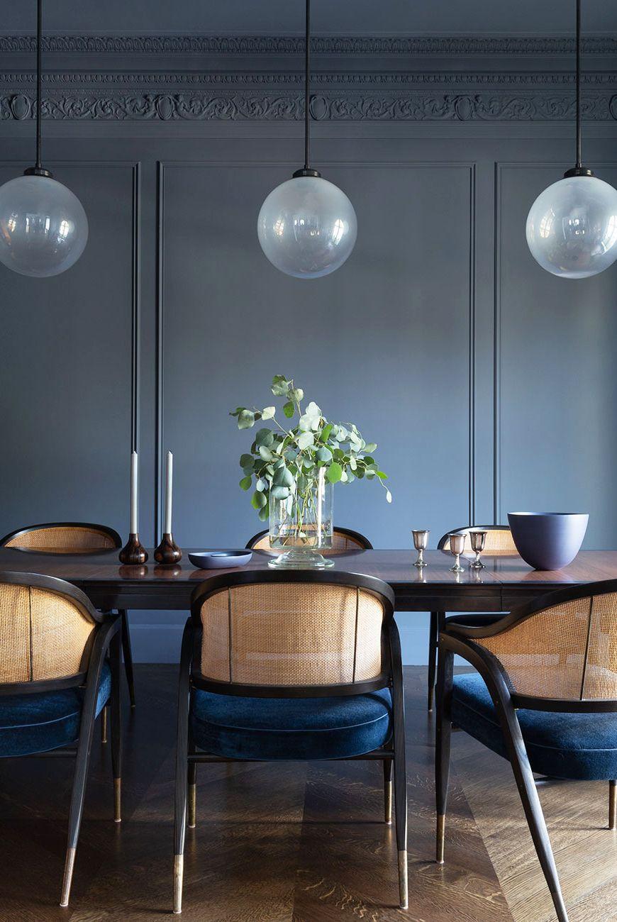 ترتيب طاولة الطعام - - الزهور والشموع