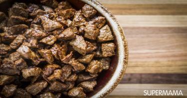وصفات باللحم المكعبات - طريقة عمل كباب الحلة