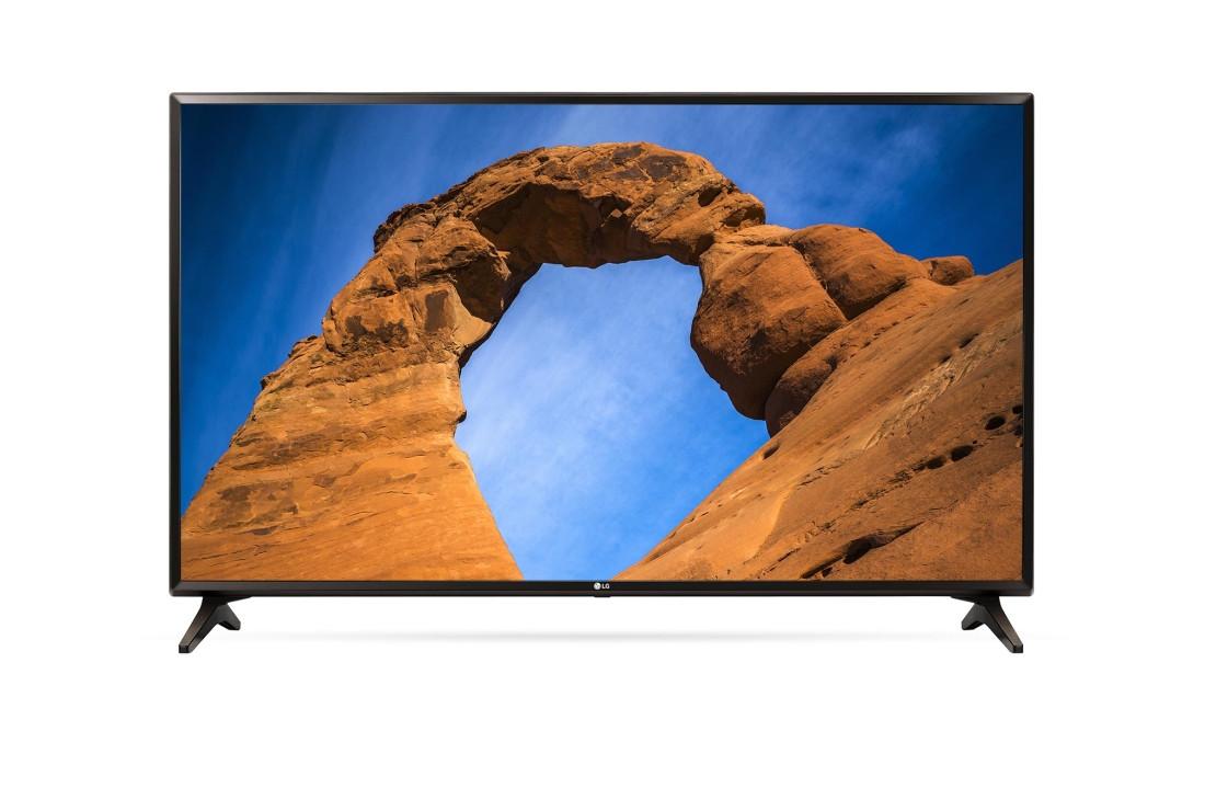 أفضل أنواع الشاشات 2020 - تليفزيون إل جي الذكي 49 بوصة عالي الدقة إل إي دي مع ريسيفر داخلي - 49LK5730PVC