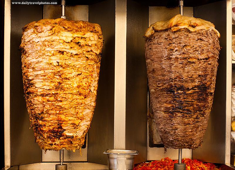 أكلات الشوارع في مصر- طريقة عمل الشاورما المصرية