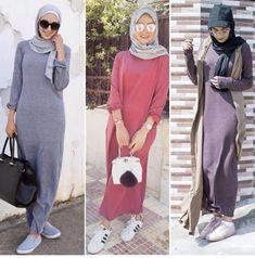 ملابس بنات محجبات مراهقات - فساتين محجبات للمراهقات